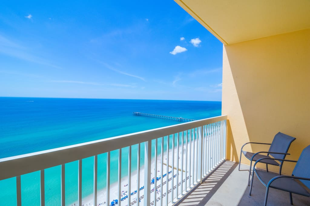 Take in the Mesmerizing Gulf Views right from your Very Own Balcony!