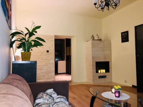 Ladne mieszkanie z roznymi dodatkami dla gosci