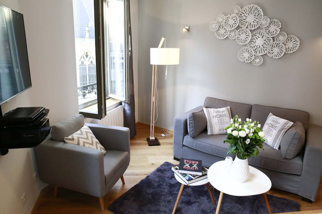 Appartement t2 le hilton apartments for rent in lille for Deco appartement t2