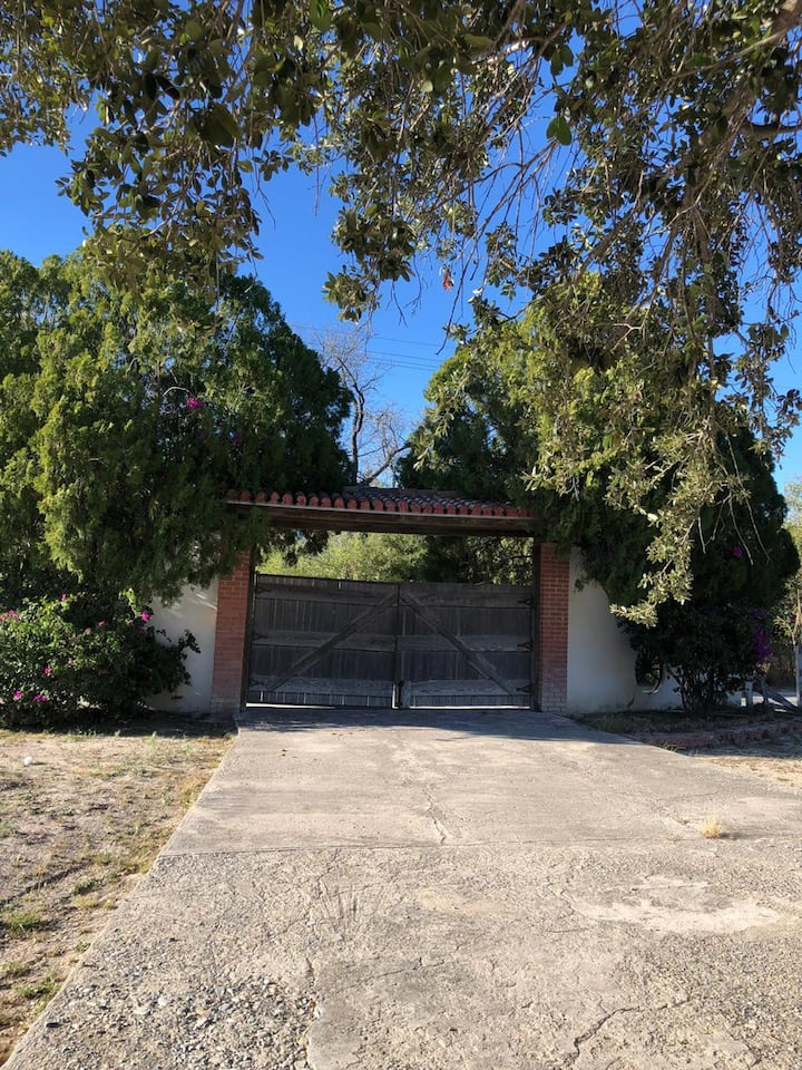 "Quinta ""Santa Clara"" en Candela Coahuila"