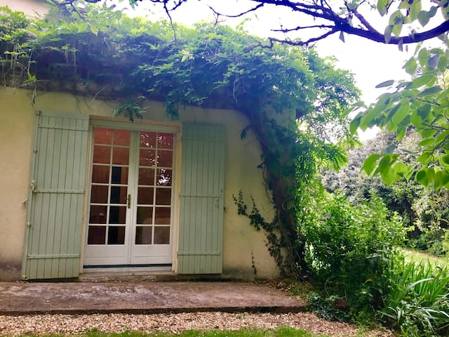 French doors leading out to the garden