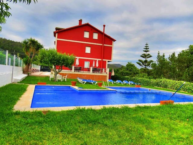 Apartment with pool in Rías Baixas