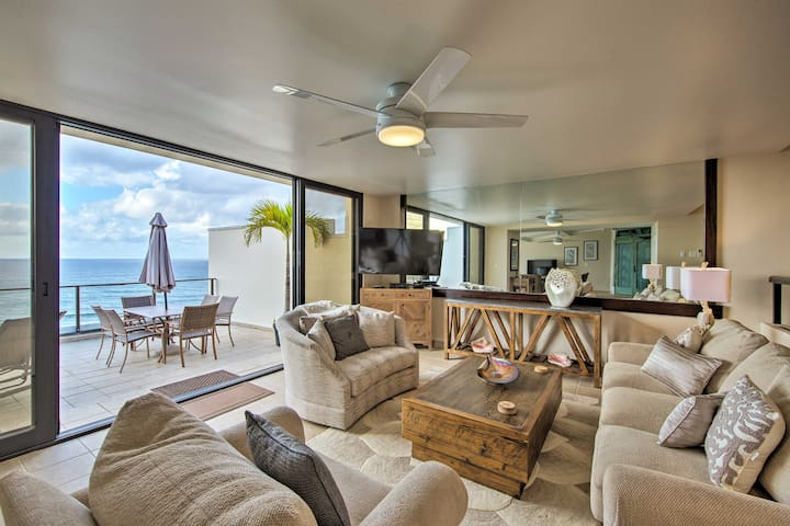 Remodeled Princeville Condo w/Pacific View & Patio