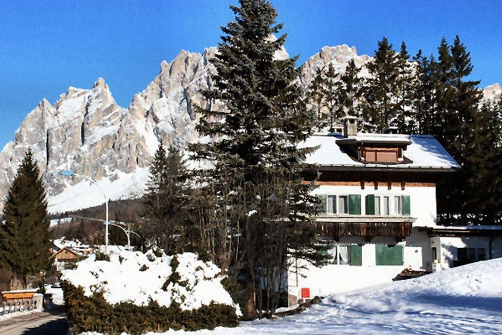 Casa Dimai - invernale