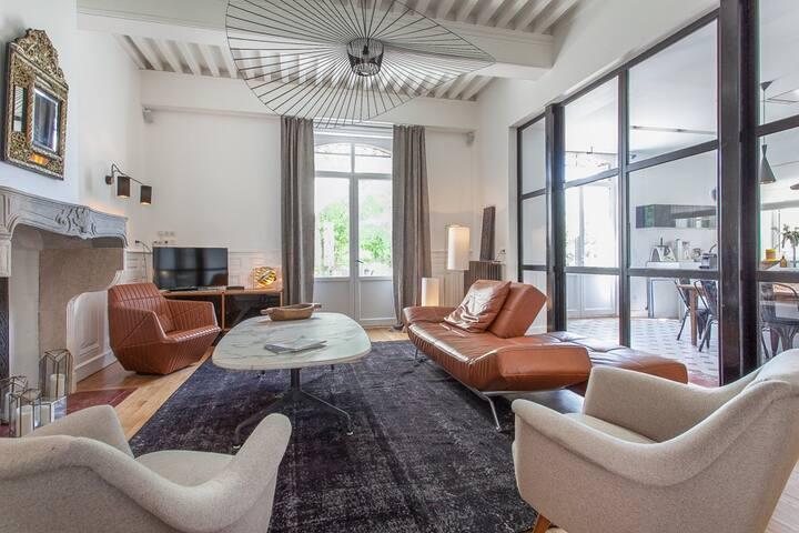 Maison d'hôtes TANDEM Arts&Design,  Cluny - Ch.4