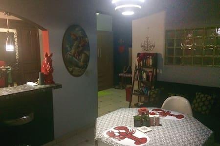 Friendly Eclectic Apartment - San Pedro Sula - บ้าน