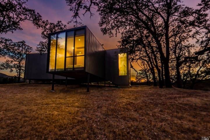 Ukiah Hilltop Retreat in Award-winning House