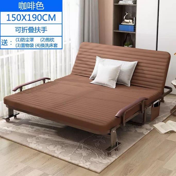 1.5 米折疊床,廣告照片