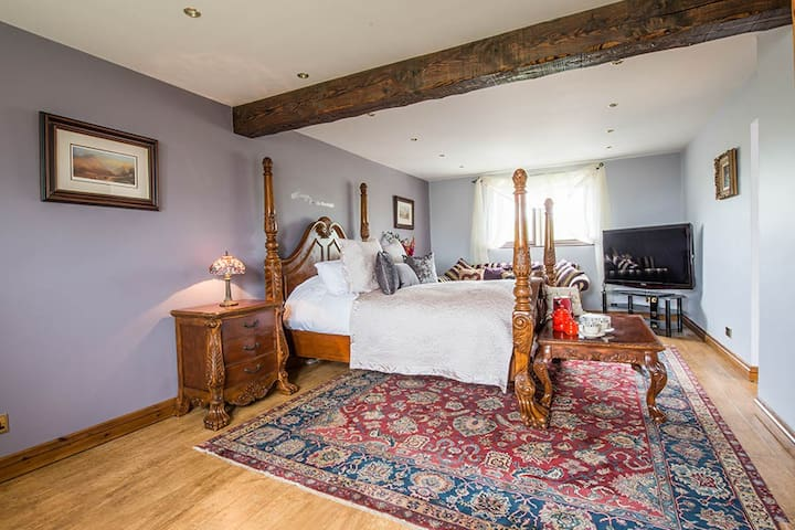 Farm View Hall B&B - The Stables room - North Yorkshire - Inap sarapan