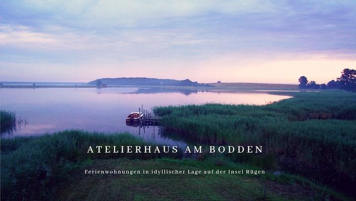 ATELIERHAUS AM BODDEN Insel Rügen Wohnung (B)unten