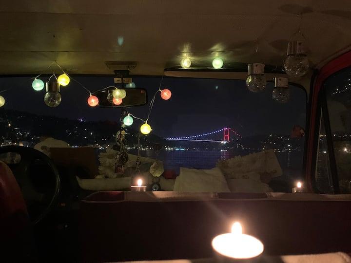 İstanbulda Nostaljik Yürüyen Eviniz