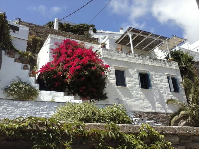 """Dove-cote"", a villa with  fantastic sea view - Tinos - Casa"