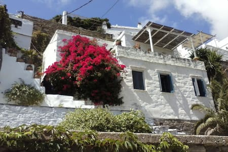 """Dove-cote ""  villa with fantastic sea view. - Tinos"