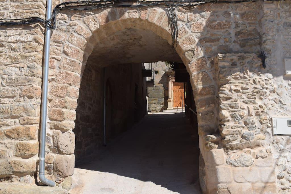 Calle donde se sitúa la casa
