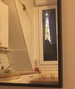 Studio Tour Eiffel view - Paris - Apartemen