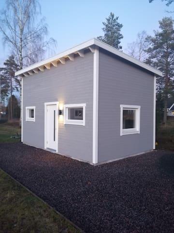 Nybyggt gästhus vid badsjö nära Jönköping city