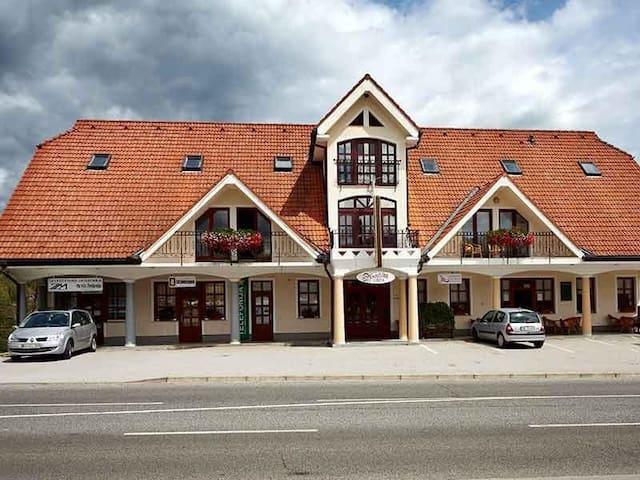 Private room close to Spa Zreče with a balcony