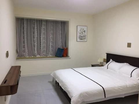桔子的民宿L馆酒店情侣大床整租日租房阳光房能做饭位置好