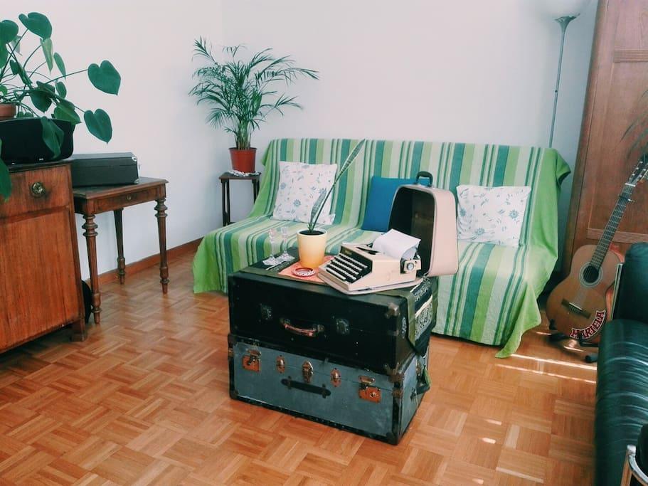 Big room in cosy apartment