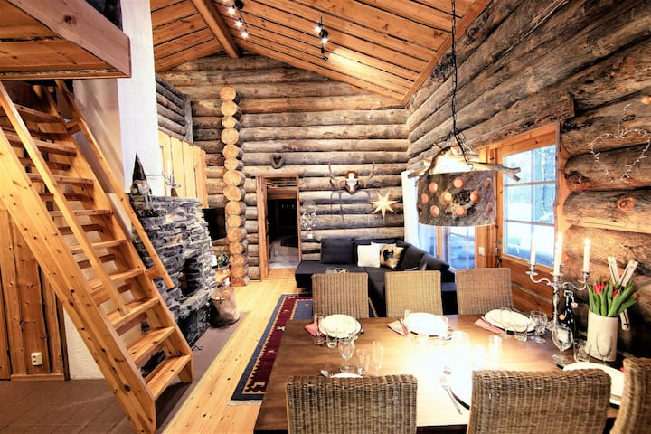Little Bear Ruka, 3 bedrooms, sauna, wifi