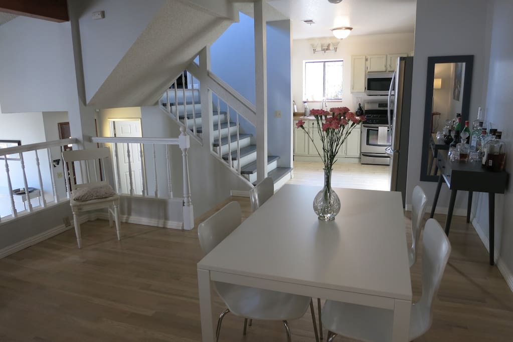 Dining Room into Kitchen (Bedrooms Upstairs)