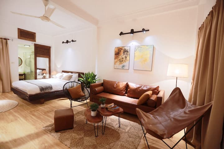 Stylish 35sqm 1BR Flat in Old Quarter Hanoi.