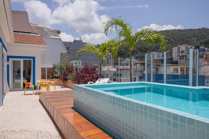 Fantastic penthouse Copacabana with private pool