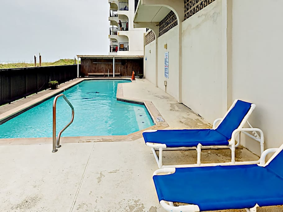 Enjoy shared access to the complex's large pool.