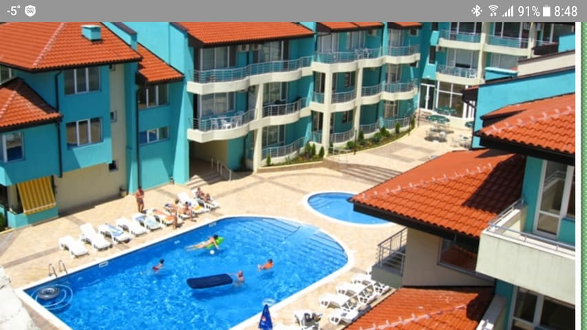 Complex Nev Apartment Sarafovo Burgas By the sea
