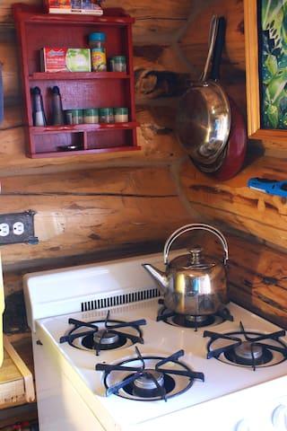 propane stove and oven