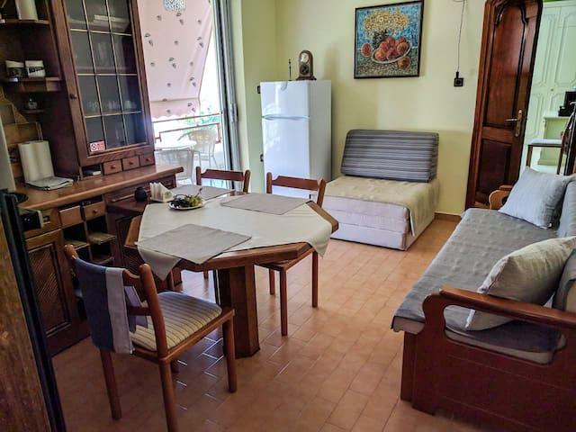 Comfortable apartment near sandy beach,Peloponnese