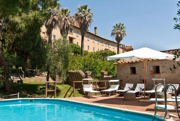 Suggestive apartment in ancient property with pool - Marsiliana