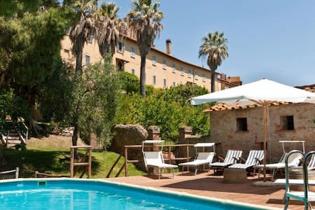 Suggestive apartment in ancient property with pool - Marsiliana - Pis