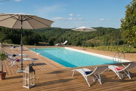 La Fleurieu - Luxury 3 bedroom converted farmhouse - Puy-l'Évêque