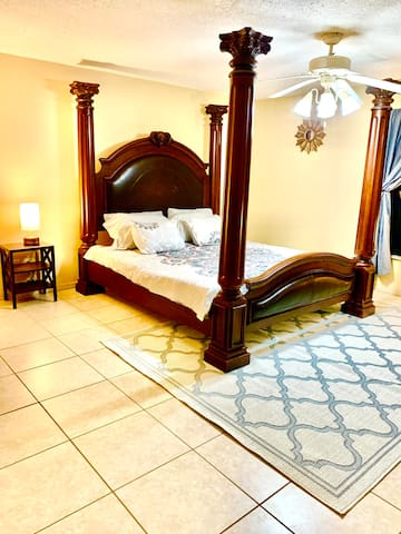 Master Bedroom with California KingBed