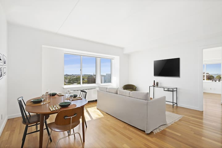 Bright and panoramic apartment, Downtown Brooklyn