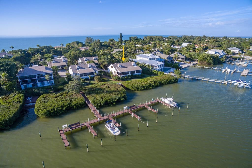 Aerial View of Captiva Shores
