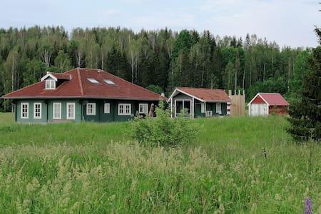Vakantievilla Värmland in Zweden, 240m2 oppervlak