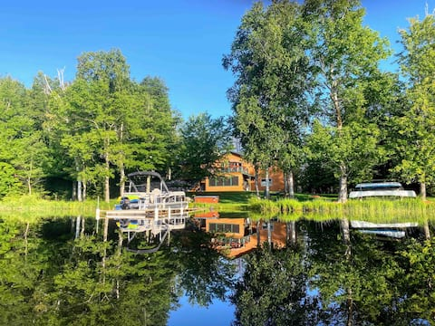 Private Lake Retreat, Sauna, Dog-Friendly