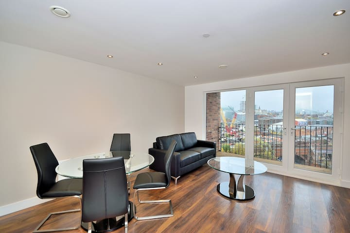 Stylish one bed apartment - Manchester - Salford
