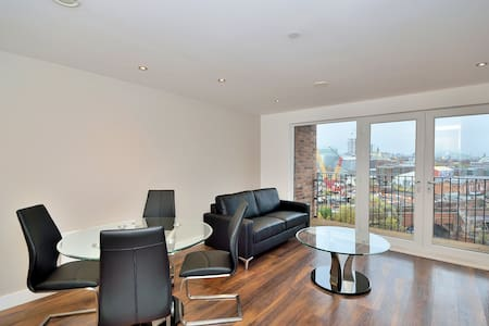 Stylish one bed apartment - Manchester - Salford - Daire