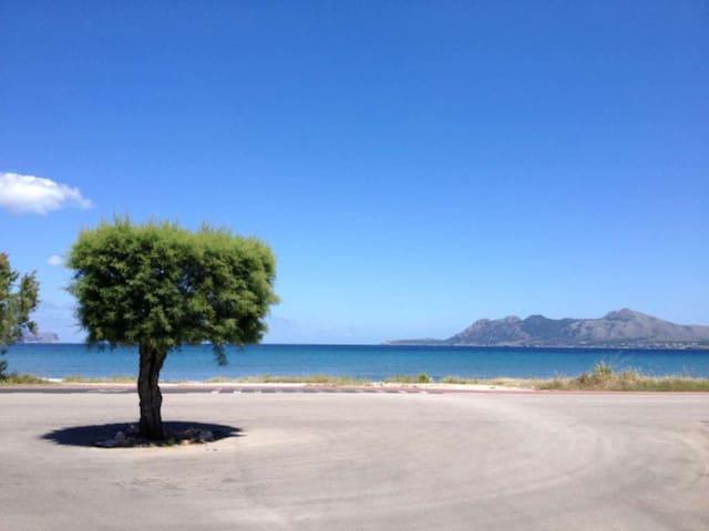 Mallorca / Pollenca 100m from beach, pool, surf - Pollença - Huoneisto