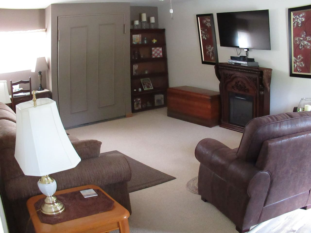 Living room and Murphy Bed