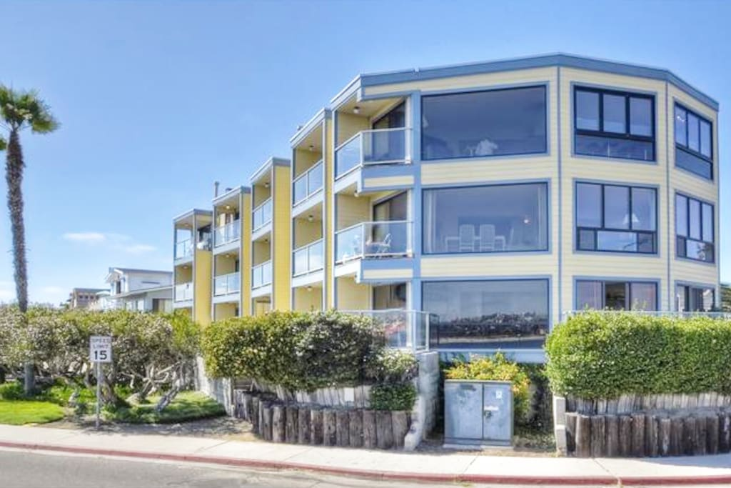 Condo has ocean and channel views showing phenomenal sunrises and sunsets.