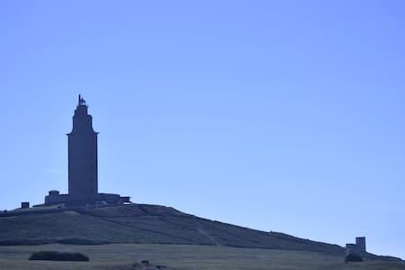 Piso con Encanto en La Coruña.