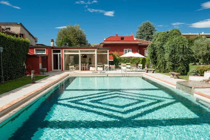 Limone apartment with pool behind Lucca - 卡潘諾里 - 公寓