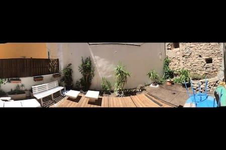 Studio avec terrasse et jardin au centre de Hyères - Hyères - Wohnung