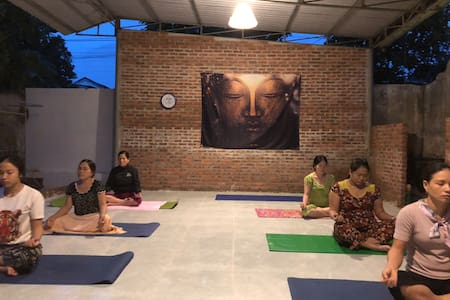 Yoga gueshouse - friendly happy peaceful quiet