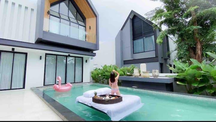长租优惠New luxury pool villa in CM near makro