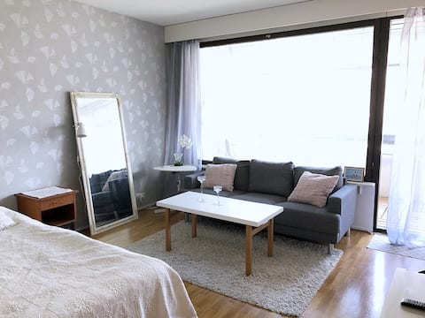 Abbis city-apartment with balcony in Vaasa